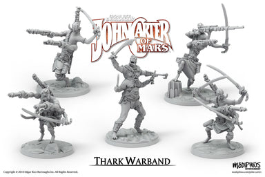 John Carter Miniatures: Thark Warband Miniatures Set