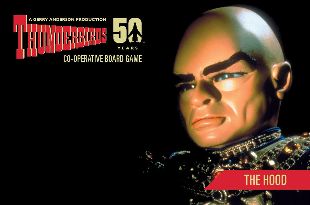 Thunderbirds Co-operative Board Game PLUS All three expansions: Tracy Island, Above & Beyond, The Hood