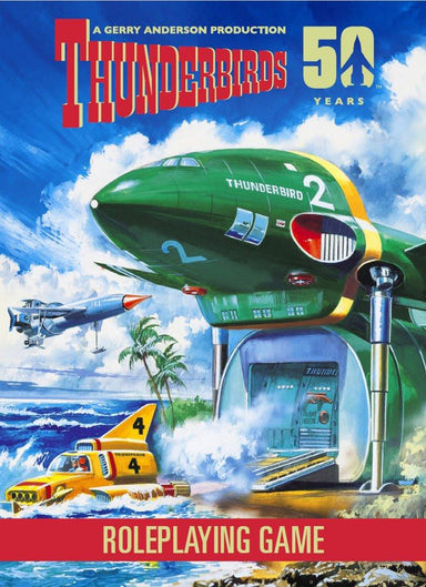 Thunderbirds - the roleplaying game - Modiphius Entertainment