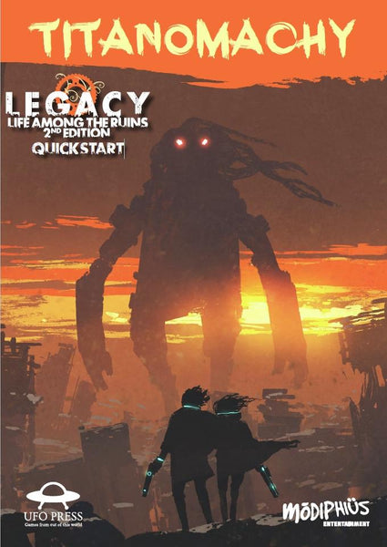 Titanomachy: Legacy Life Among the Ruins 2nd Edition Quickstart