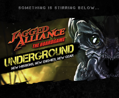 Jagged Alliance: The Boardgame UNDERGROUND (expansion) - Modiphius Entertainment