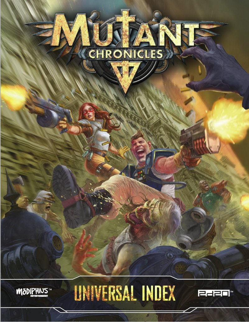 Mutant Chronicles Universal Index