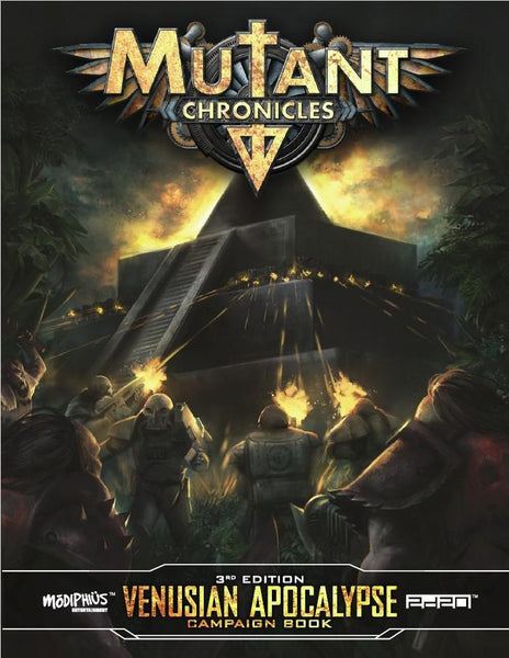 Mutant Chronicles: Venusian Apocalypse - PDF