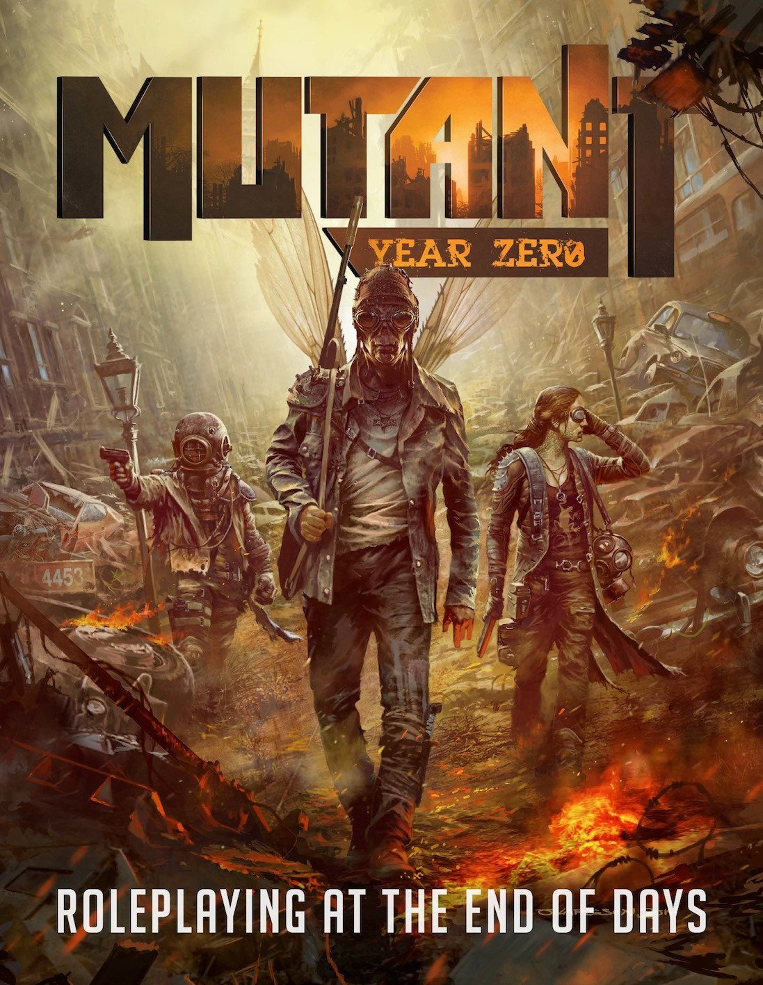 Mutant: Year Zero - Roleplaying Game - Starter Bundle