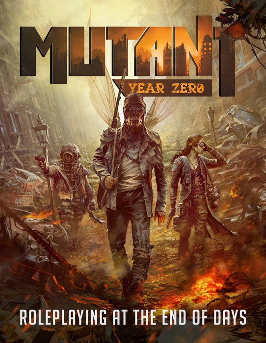 Mutant: Year Zero Roleplaying Game - Character Sheets - Modiphius Entertainment