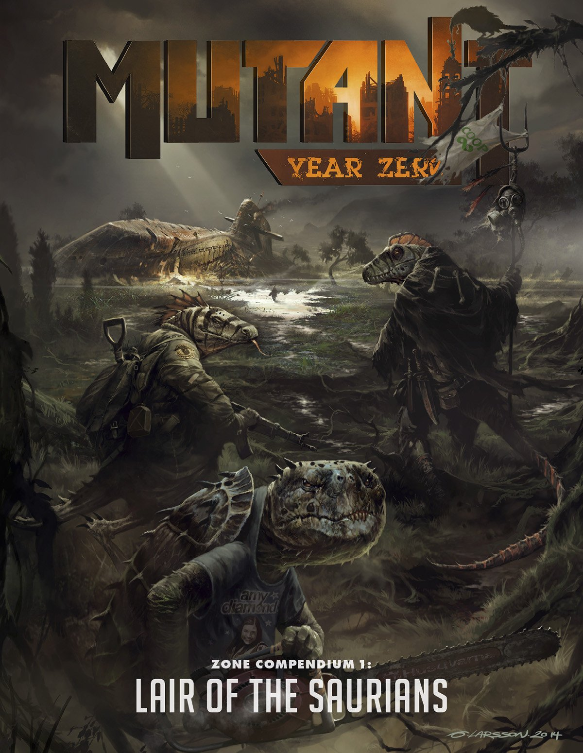 Mutant: Year Zero Zone Compendium 1 - Lair of the Saurians