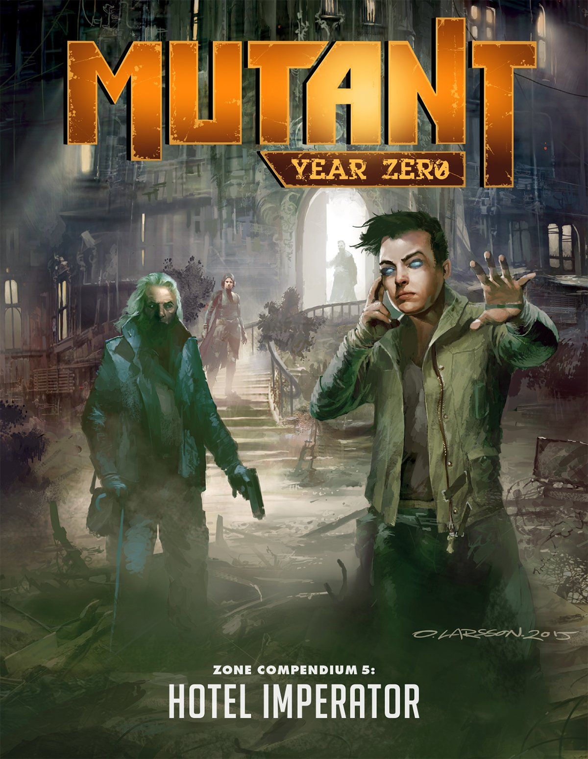 Mutant: Year Zero - Zone Compendium 5 - Hotel Imperator