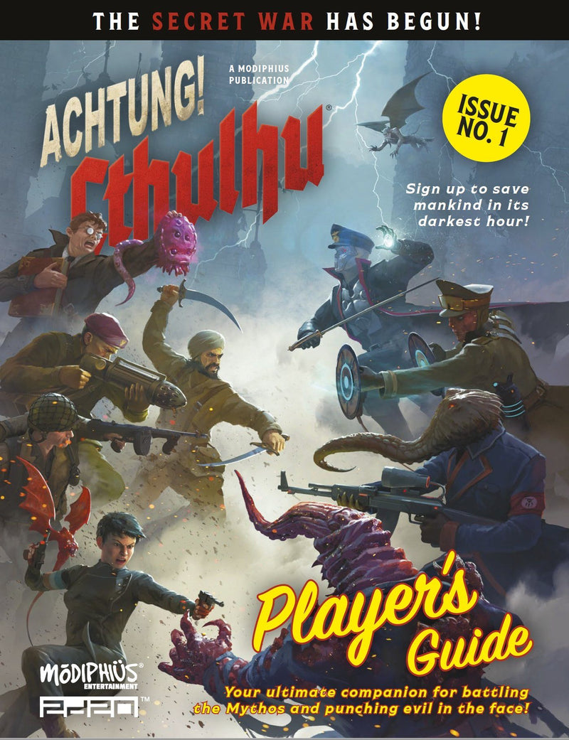 Achtung! Cthulhu 2d20: Player's Guide Achtung! Cthulhu 2d20 Modiphius Entertainment
