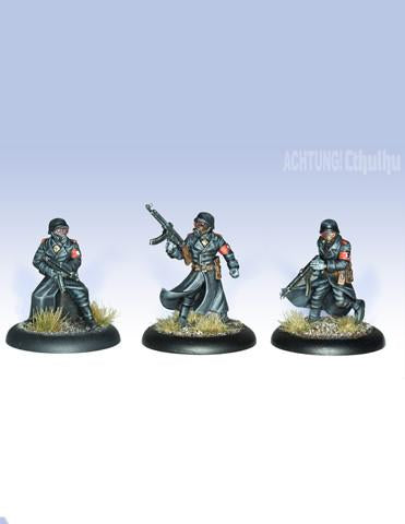 Achtung! Cthulhu Miniatures - Black Sun Troopers - Modiphius Entertainment