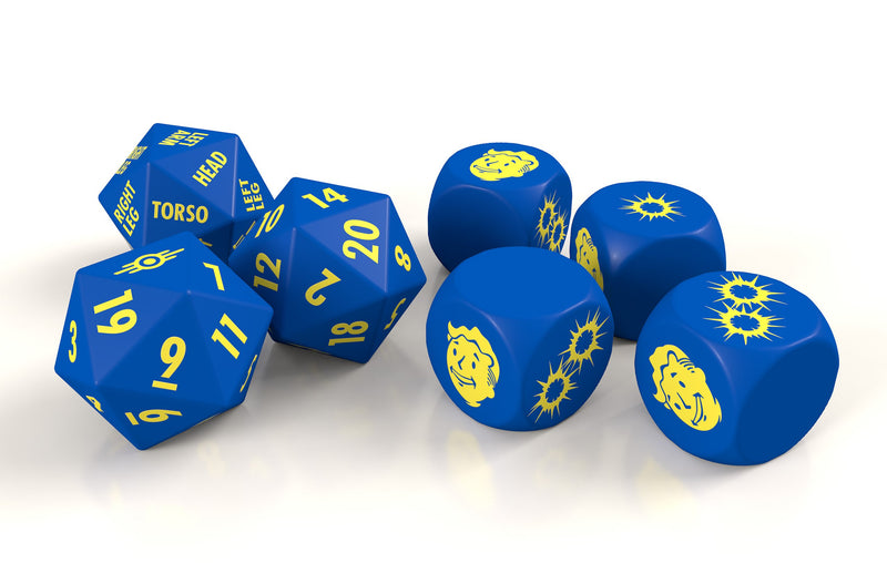 Fallout: The Roleplaying Game Dice Set Fallout RPG Modiphius Entertainment