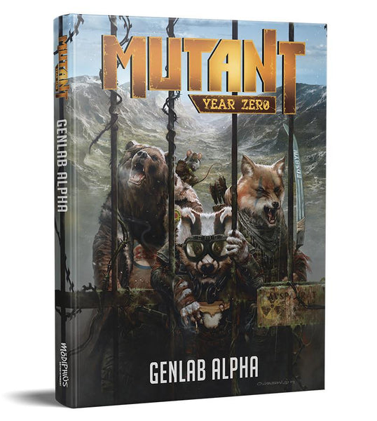 Mutant: Genlab Alpha Core Book - PDF