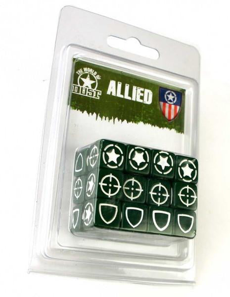 Dust Adventures - Role Playing Game - Allied Dice set