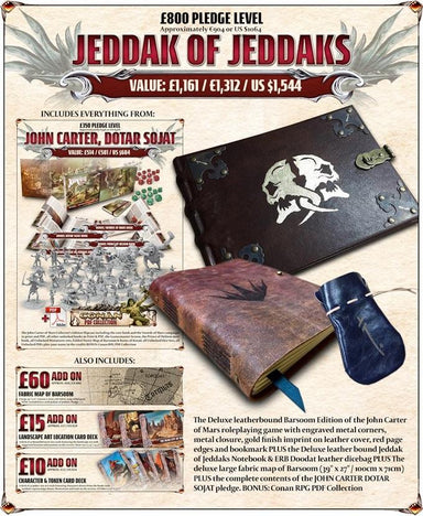 John Carter of Mars: Jeddak of Jeddaks - Late Pledge