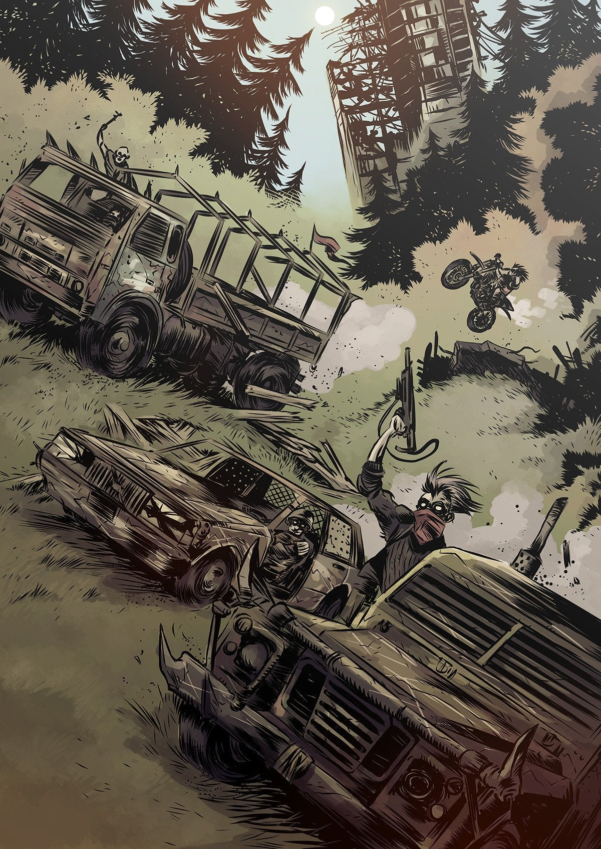 Mutant: Year Zero Roleplaying Game FREE PDF Preview
