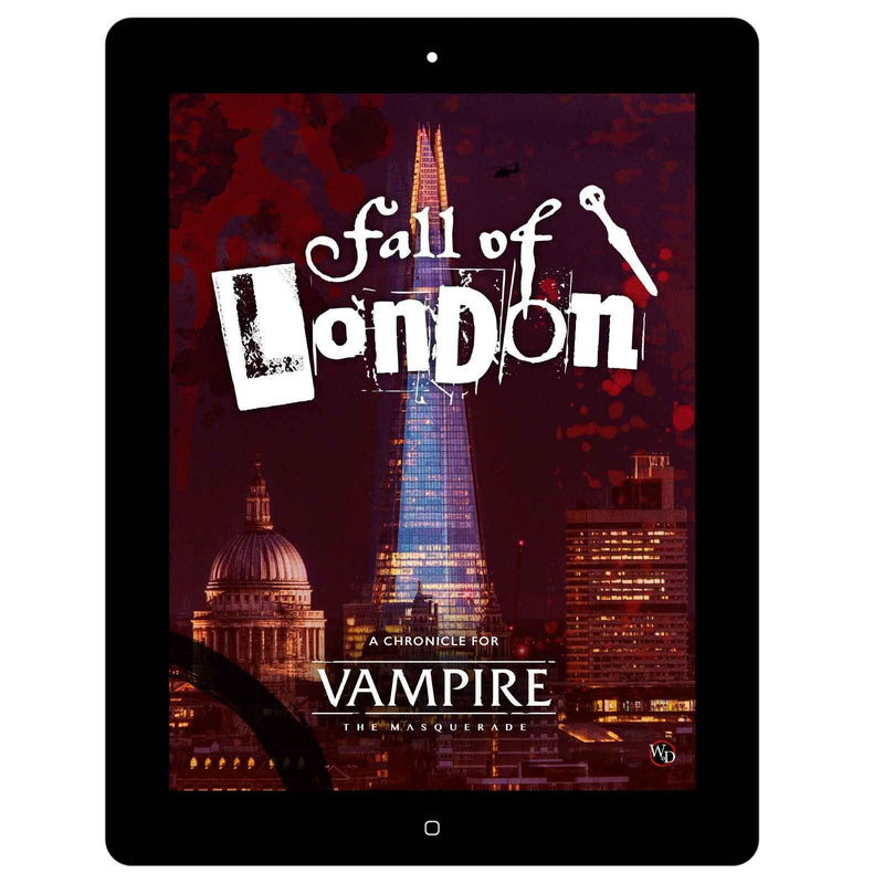 Vampire: The Masquerade 5th Edition: Fall of London - PDF