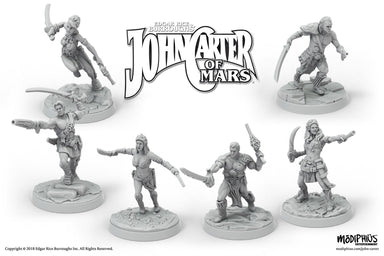 John Carter Miniatures: Heroes of Helium Miniatures Set