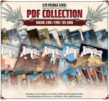 John Carter of Mars Core PDF Collection - £35 Pledge
