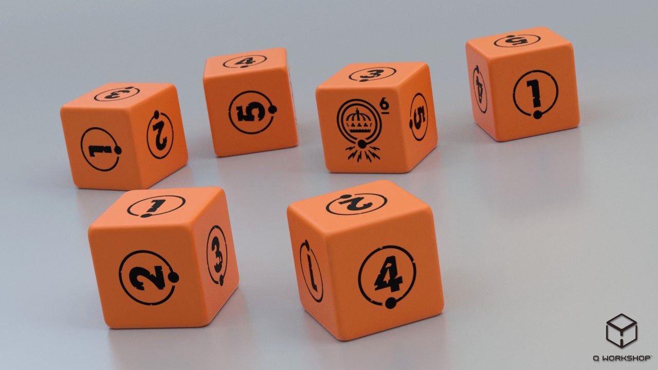 Tales from the Loop Dice Set -  Modiphius Entertainment
