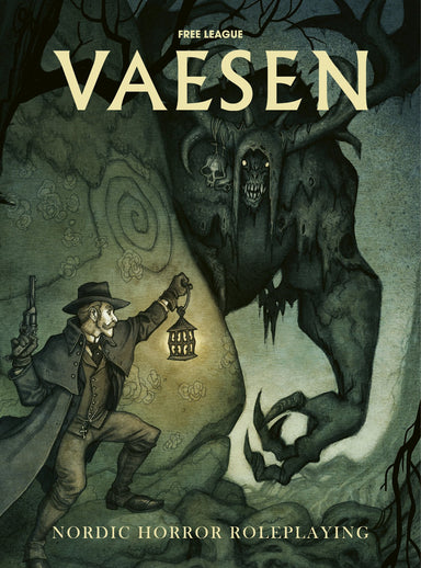 VAESEN – Nordic Horror Roleplaying Core Book Vaesen Free League Publishing