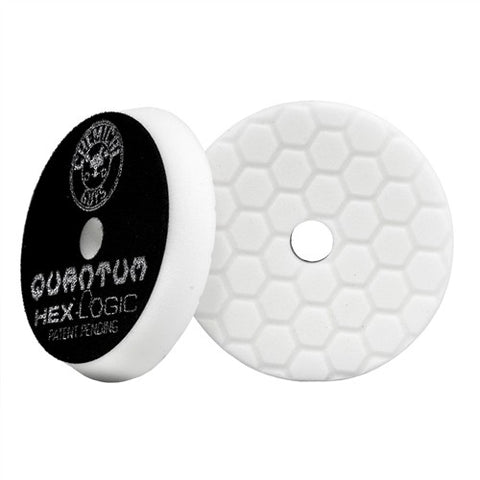 Hex-Logic Quantum Buffing Pad -White -6.5