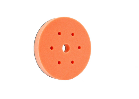 "6"" Medium Cut Foam Pad Orange"