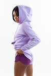 PCS Women's Premium Lavender Interlock Running Shorts