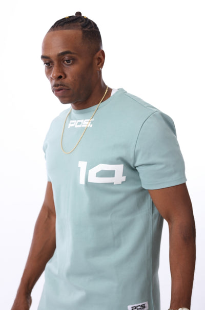 PCS  Men's Premium Jersey Curved Hem Tee