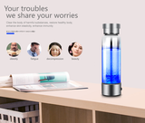 Stainless Stain Portable Hydrogen Rich Water Bottle