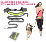 Hands Free Dog Leash with Water Bottle Holder