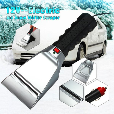 12V Electric Heated Ice Scraper