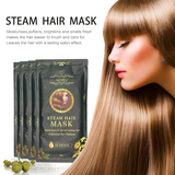 Steam Hair Mask Home Treatment