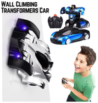 2 in 1 Wall Climbing Transformers Car