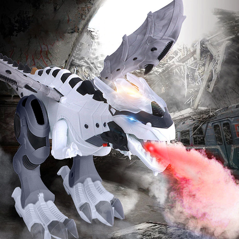 #1 Intelligent Dinosaur Robot with Fire