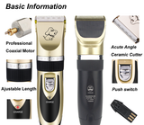 Low Sound Cordless Pet Grooming Clipper