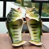 3D Fish Shoes - Funny Fish Slippers