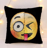 DIY Face Changing Emoji Pillows