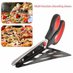 Pizza Cutter with Detachable Shovel