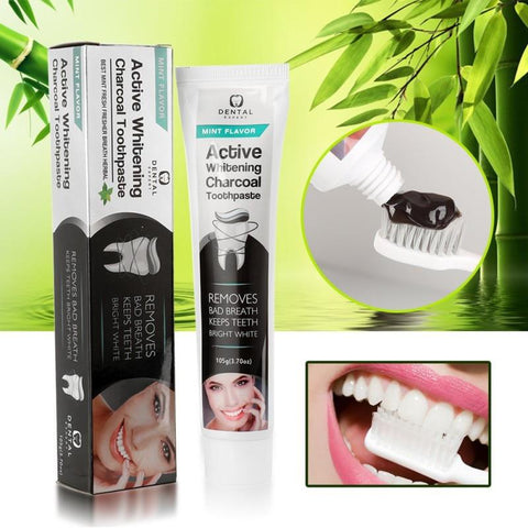 Activated Teeth Whitening Charcoal Toothpaste