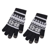 Christmas Knitted Texting Gloves for Men