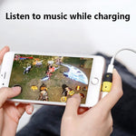 Dual Ports Phone Audio Adapter