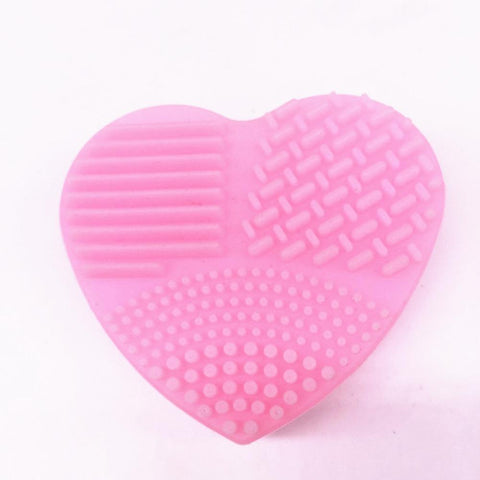 1Pcs Makeup Cleaning Silicone Mat