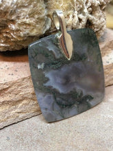 Load image into Gallery viewer, CD0154 Moss Agate Pendant