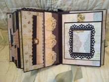 "Load image into Gallery viewer, SB1000 ~ Handmade ""Memory"" Scrapbook Album"