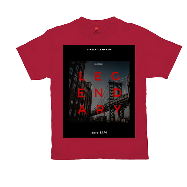 Opulent Dezignz™️ LEGENDARY RED Signature T-Shirts