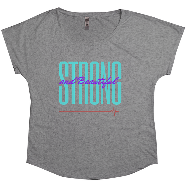 OPULENT DEZIGNZ™ Strong and Beautiful Inspirational Ladies Shirts