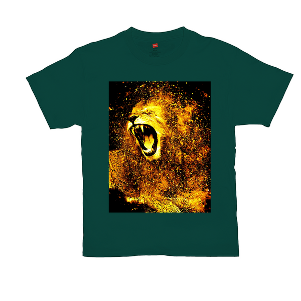 OPULENT DEZIGNZ™ Lion Is A Lion Men T-Shirt