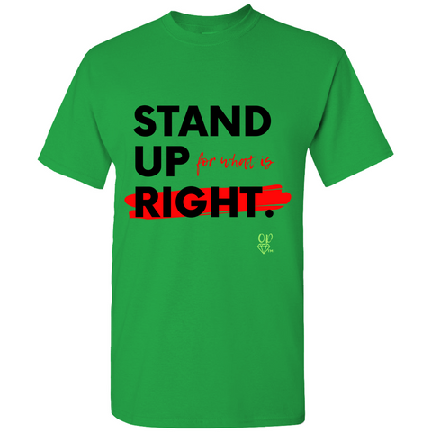 OPULENT DEZIGNZ™ Men Stand UP T-Shirts