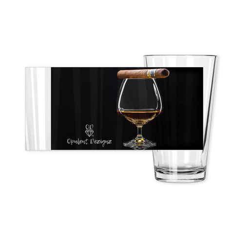 OPULENT DEZIGNZ™ It's A Vibe Signature Pint Glasses