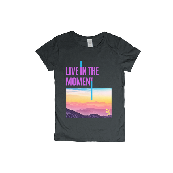 OPULENT DEZIGNZ™ Live In The Moment T-Shirt