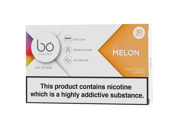 Bo Caps Sweet Melon 3 Pack | Vapespot